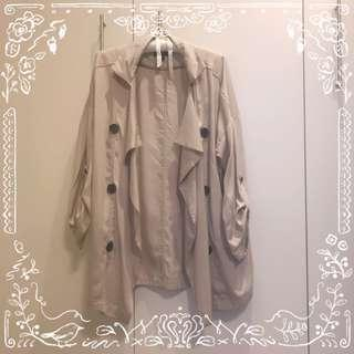 Stradivarious Summer Trench Coat/Outer