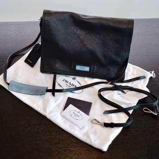 cb0b3ab46c7a Like New - Prada Etiquette Shoulder Bag - Calf Leather