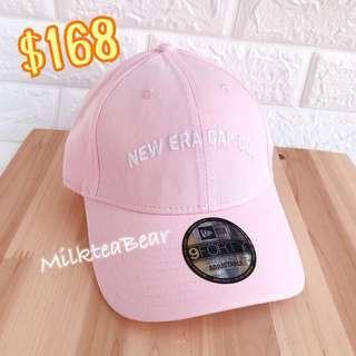 ⭐️大特價🇺🇸🇬🇧New Era NY 刺繡logo Cap 帽 粉紅色