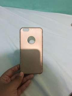 Case iphone 6 gold