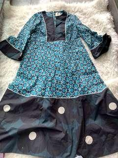 New Orla kiely maxi dress uk8