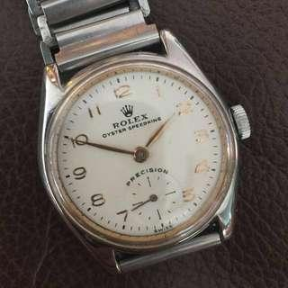 (New Year Sales!) ROLEX 1940's  Small SUB Second Vintage Mechanical Winding Wrist Watch