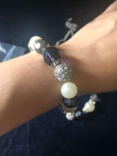 Necklace and bangle