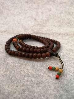 🚚 Antique & Authentic Tibetian 108 Tibetian Bodhi seed mala