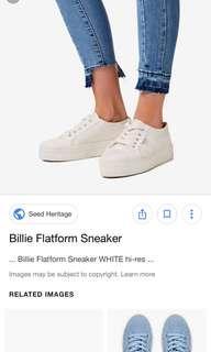 Billie Flatform Blue