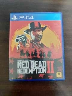 Red Dead Redemption 2 PS4 Rdr