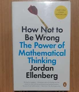 [Bnew] How Not to Be Wrong The Power of Mathematical Thinking by Jordan Ellenberg
