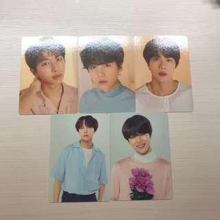 [WTS] bts love yourself your official mini photocards