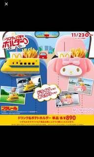 日版 McDonalds 火車 麥當勞玩具