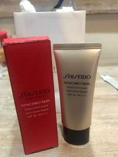 Shiseido synchro skin tinted gel cream