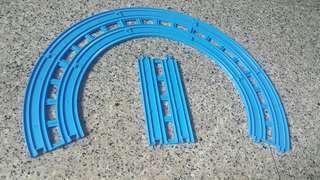 Tomy Double Track Rail