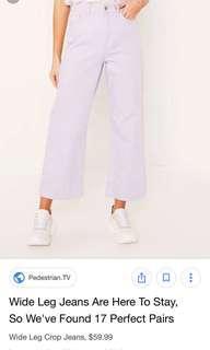 BDG High Wide Crop Jeans
