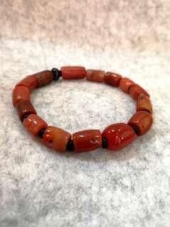 🚚 Rare Antique & Authentic Tibetian Carnelian Bracelet