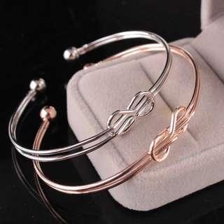 Knot Bracelet Gold Rose Black Silver Men Jewellery Minimalist