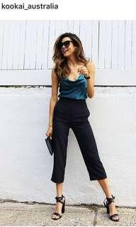 Kookai Black Oyster Pants