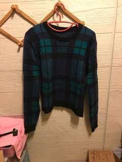 🚚 格子毛衣