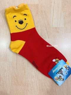 正版Disney全新🌟Winnie the Pooh 短襪