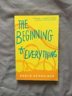 English Novel - The Beginning of Everything by Robyn Schneider