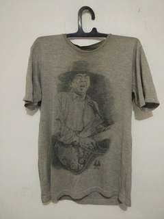 Kaos T-shirt Guitar Man Vocuz Evolute 2011