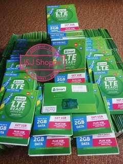 Smart and Globe LTE sim cards