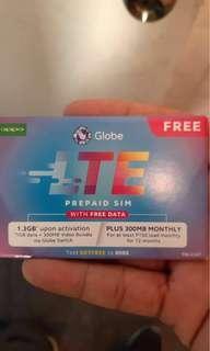 Smart LTE Sim and LTE Globe Sim