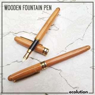 Wooden Fountain Pen