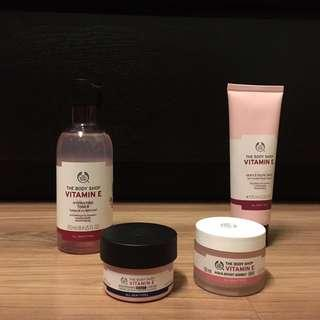 Body Shop Vitamin E Set/Indvidual