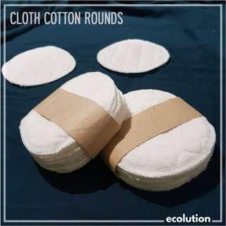 Cloth Cotton Rounds