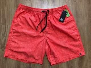 Quiksilver Orange Shorts (With Tags)