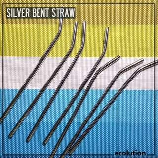 CLEARANCE SALE Bent Stainless Straw