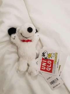 Uniqlo KAWS X PEANUTS Snoopy公仔匙扣keychain doll