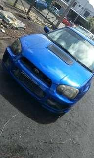 CHARGESPEED Reverse Scoop for Subaru Impreza Blobeye