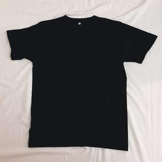 unisex plain black and white shirts