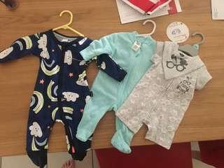 Brand New Newborn Boy Clothes