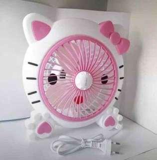 Kipas angin mini (karakter Hello Kitty)