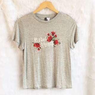 BNWOT H&M rebel youth shirt