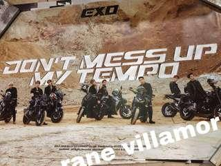 EXO 'Don't Mess Up My Tempo' Posters