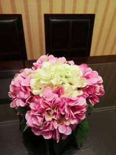 Hydrangea Flower Vase