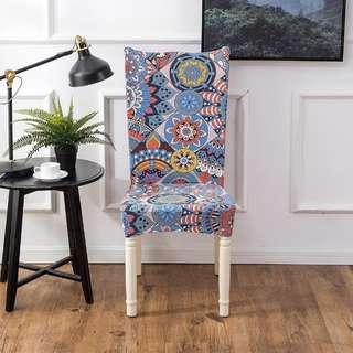Elastic chair cover 3pcs