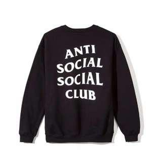 Anti Social Mind Games Crewneck Black