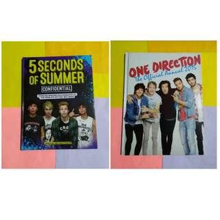 TAKE ALL: 1D OFFICIAL ANNUAL & 5SOS BOOK