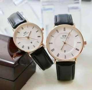 Jam Tangan Couple Daniel Wellington dw