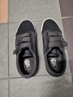 Black VANS with strap
