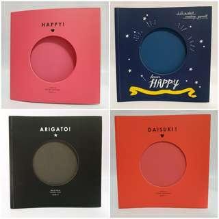 Scrapbook Album from Daiso Japan/Paper craft/creative art