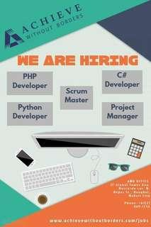 Hiring: IT Software Developers