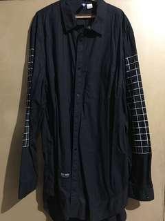 H&M Long-Length Longsleeve Shirt