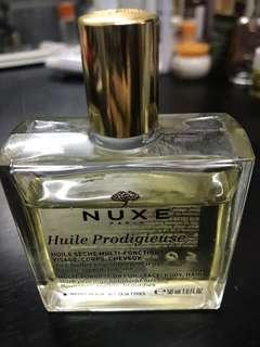 Nuxe Huile Prodigieus oil  多效滋養乾爽護理油(仲有8成)