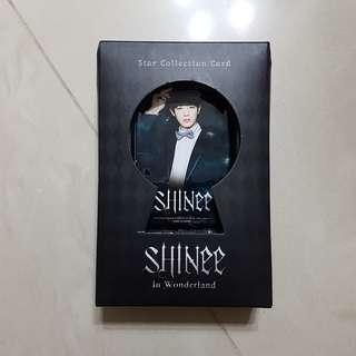 SHINee In Wonderland Star Collection Card set