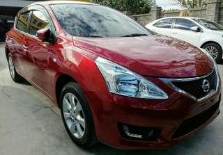 1,廠牌型號: Nissan Tiida1.6  2,車輛年份:2015年出廠(59639)km  3,預售金額:39.8萬  4,所在地區:台中市(歡迎預約看車)  5,聯絡方式:0923 288 838 &LINE:同電話號碼  6,備註說明:實車實價可全額貸款,當時新車價66.9萬,一手車定期保養,全車無待修處,內裝乾淨無破損無菸女用,底盤紮實無異音,認證保固好車。