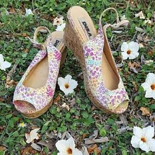 Diba Floral Wedges Shoes